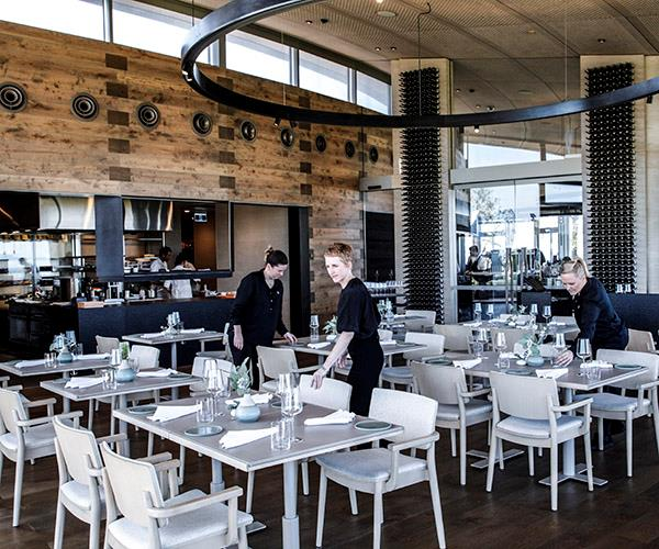 """**REGIONAL RESTAURANT OF THE YEAR FINALIST: LAURA** <br><br> [Laura](https://www.gourmettraveller.com.au/news/food-and-culture/a-tour-of-laura-with-pt-leo-estates-phil-wood-15188