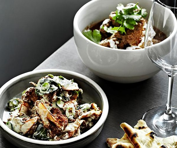 **[Warm cauliflower salad with yoghut, mint and green chilli](https://www.gourmettraveller.com.au/recipes/chefs-recipes/warm-cauliflower-salad-with-yoghurt-mint-and-green-chilli-7907)**