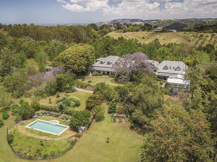 An aerial view of Spicers Clovelly Estate