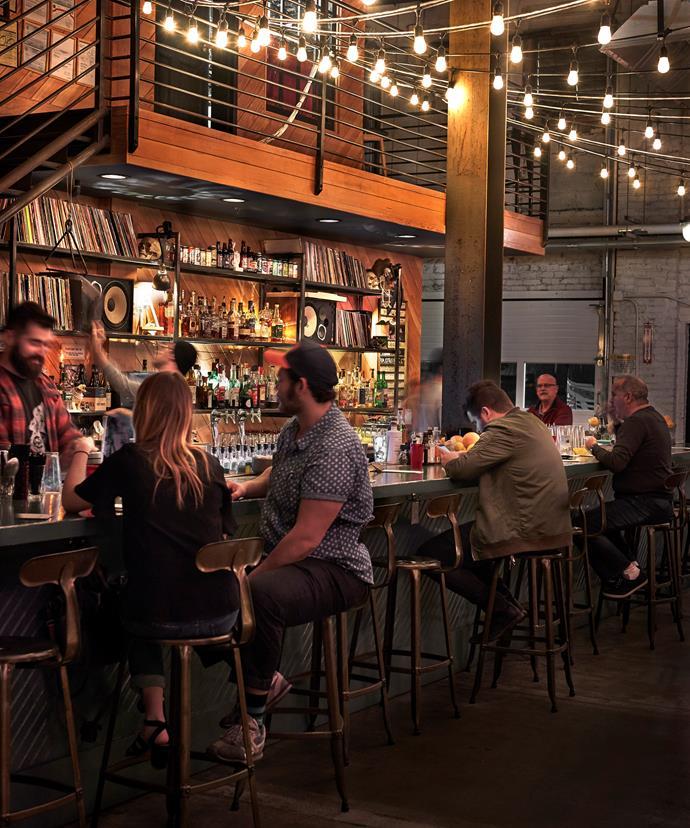 The bar at Bastion