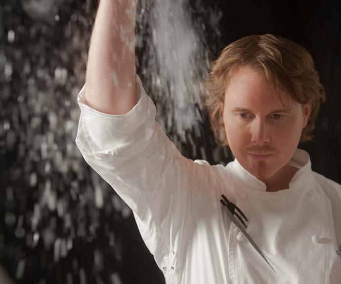 Grant Achatz, chef at Alinea.