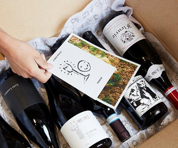 """**BLACKHEARTS & SPARROWS: A WINE SERVICE** <br> If you're lucky enough to live in Melbourne or Canberra, you're already familiar with wine store Blackhearts & Sparrows and its approachable style of selling high quality wine. Now their wine delivery service brings that friendly, can-do approach to anyone who has an Australian postal address. Every month (or quarter – you choose), Dad'll receive six bottles plus a recipe from the likes of Andrew McConnell or Annie Smithers that's perfectly suited to one of the drops inside the box. Fingers crossed you get an invite to dinner.  <br> *From $120, [Blackhearts & Sparrows](https://awineservice.com.au/