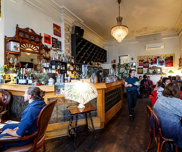 "**BAR OF THE YEAR: [LIBERTÉ](https://www.gourmettraveller.com.au/dining-out/restaurant-reviews/liberte-6863|target=""_blank""), ALBANY** <br><br> The space might be a Francophile's dream – Parisian tat and zinc tables in the front bar, vintage Belle Époque glamour in the dining room – but this plucky watering hole draws key inspiration from the [Great Southern region](https://www.gourmettraveller.com.au/travel/destinations/albany-denmark-western-australia-great-southern-region-15989