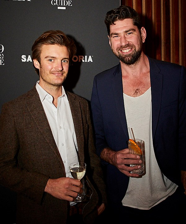 *Nick Smith and Louis Couttoupes of Bar Rochford (photo: Lauren Trompp).*