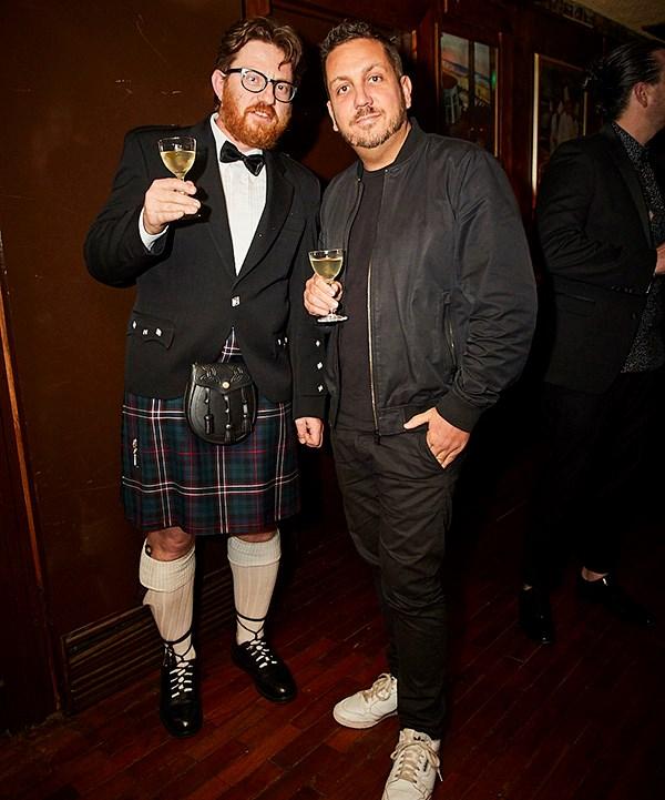 *Rootstock's Giorgio De Maria and James Hird (photo: Lauren Trompp).*