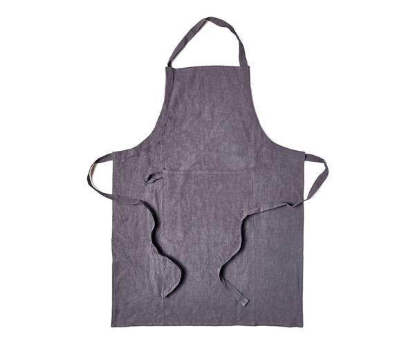 """**SALT & PEPPER RAMI APRON** <br> Whether he's keeping an eye on the barbecue or wok-tossing [Singapore crab](https://www.gourmettraveller.com.au/recipes/browse-all/singapore-chilli-crab-8772