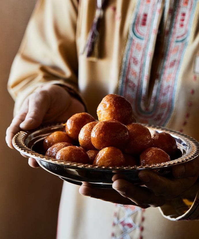 Luqaimat dumplings -  a gently spiced and fragrant sweet