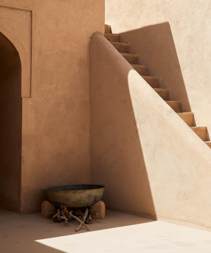 Nizwa Fort in the former Omani capital