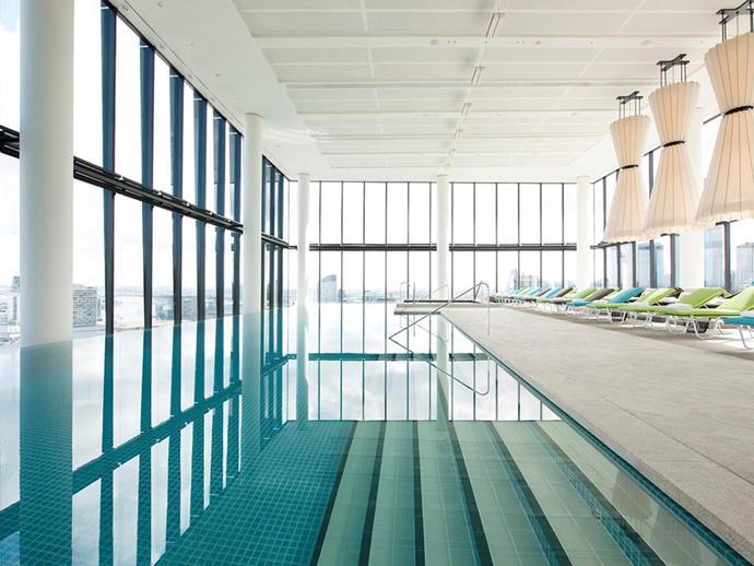 The pool at Crown Metropol