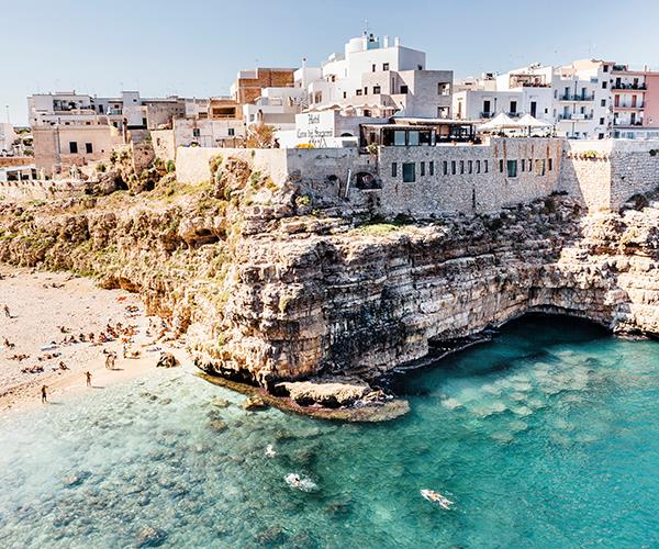 "**POLIGNANO A MARE, PUGLIA, ITALY**<br> ""After an assignment in [Puglia](https://www.gourmettraveller.com.au/travel/destinations/puglia-the-home-of-italian-hospitality-5353