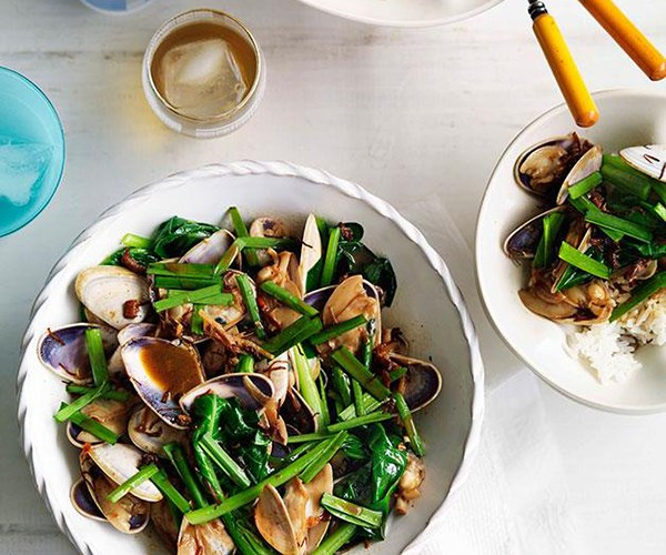 "[**XO pipis with Chinese broccoli**](http://www.gourmettraveller.com.au/xo-pipis-with-chinese-broccoli.htm|target=""_blank"")"