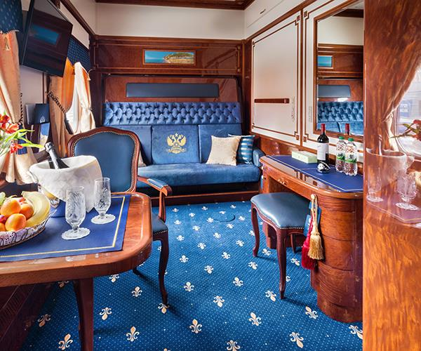 The Romanov Suite on the Golden Eagle