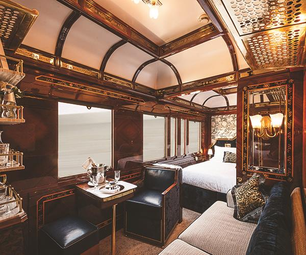 A suite on the Simplon-Orient-Express