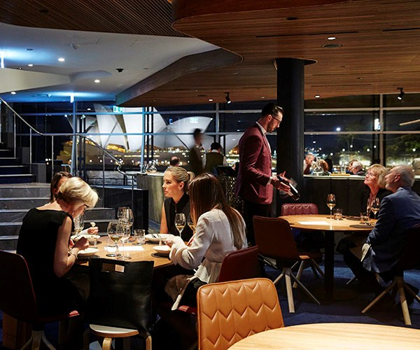 The renovated interiors of Quay (photography: Rob Shaw).