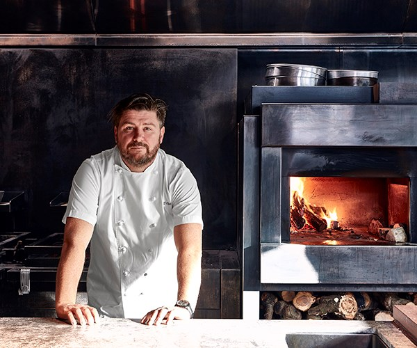 Scott Pickett in the kitchen at Matilda (photography: Tim Grey).