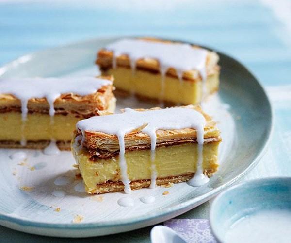 "[**Vanilla slice**](https://www.gourmettraveller.com.au/recipes/browse-all/vanilla-slice-12007|target=""_blank"")"