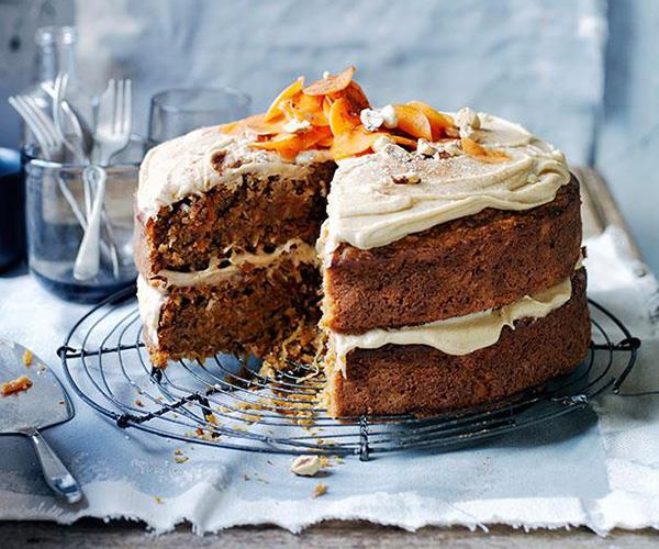 "**[Ginger-carrot cake with salted butterscotch frosting](https://www.gourmettraveller.com.au/recipes/browse-all/ginger-carrot-cake-with-salted-butterscotch-frosting-13991|target=""_blank"")**"