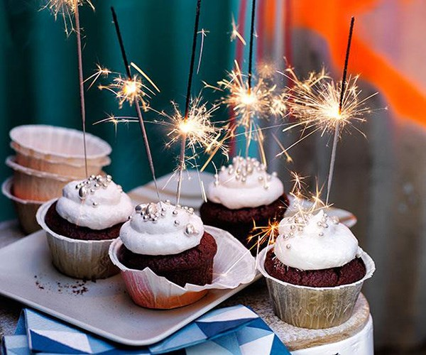 """**[Red velvet cupcakes with cream cheese-marshmallow frosting](https://www.gourmettraveller.com.au/recipes/browse-all/red-velvet-cupcakes-with-cream-cheese-marshmallow-frosting-11807