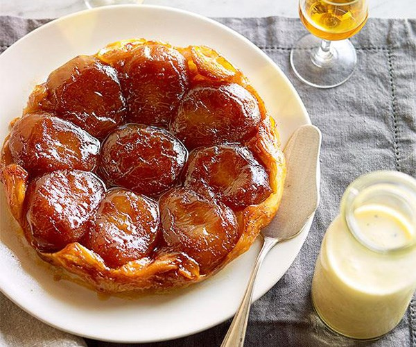 "**[Tarte Tatin](https://www.gourmettraveller.com.au/recipes/browse-all/apple-tarte-tatin-14159|target=""_blank"")**"