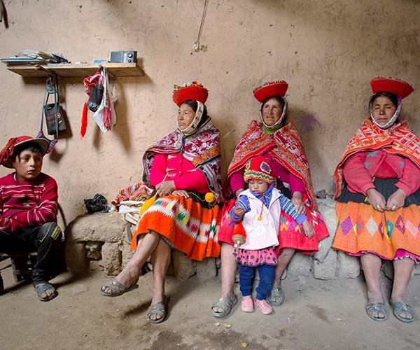 Huilloc Villagers