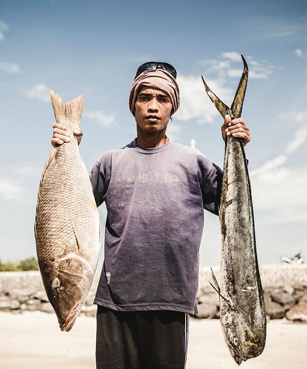 Bali Sustainable Seafood fisherman