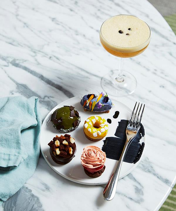 A selection of sweet treats from the high tea menu.