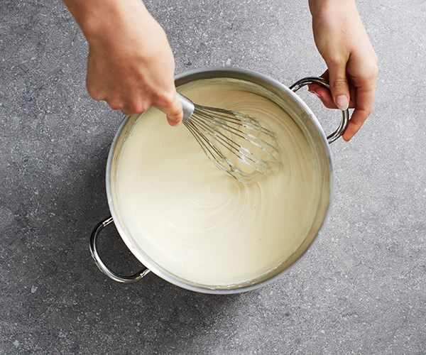 Step 5: Stir until thick and smooth