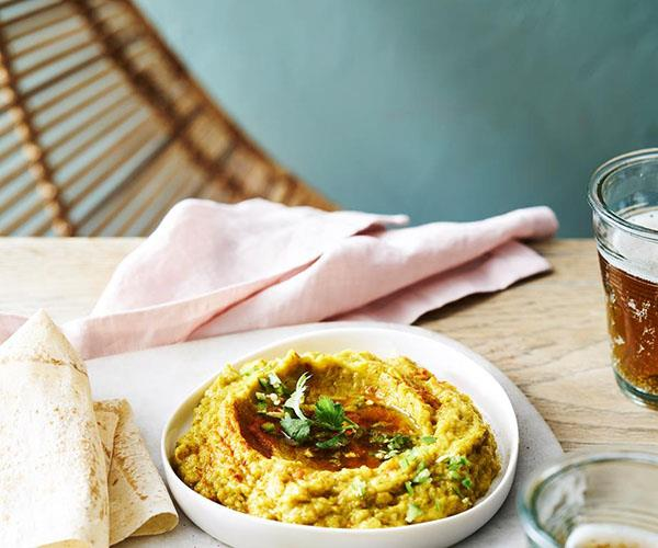 "[**Blue Nile's Ethiopian eggplant dip**](http://www.gourmettraveller.com.au/recipes/chefs-recipes/blue-niles-ethiopian-eggplant-dip-9303 target=""_blank"")"