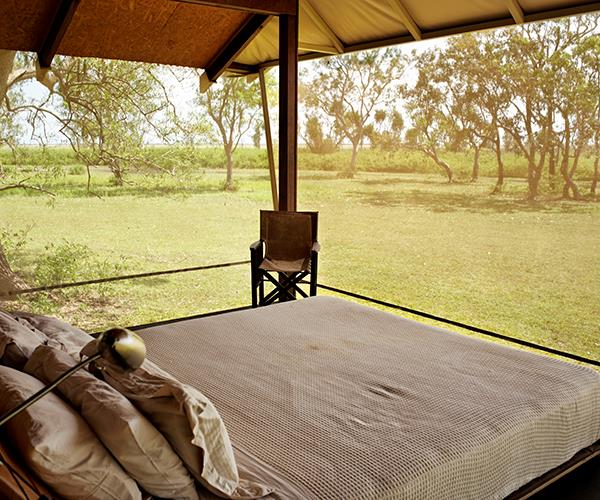 Safari bungalow at Bamarru Plains