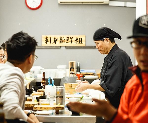 Chef Matsui  (photography: Maikeru Nirvana)