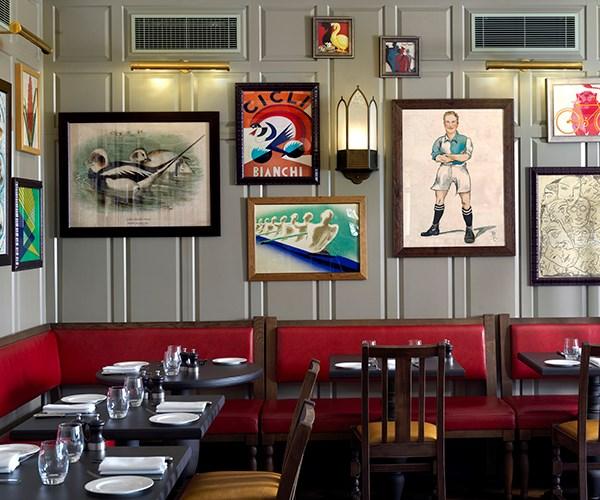 Details inside Parker's Tavern
