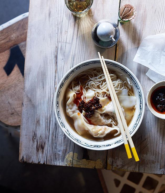 "[Wonton mee](https://www.gourmettraveller.com.au/recipes/browse-all/wonton-mee-11728|target=""_blank"")"