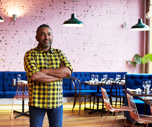 Chef and owner Jessi Singh