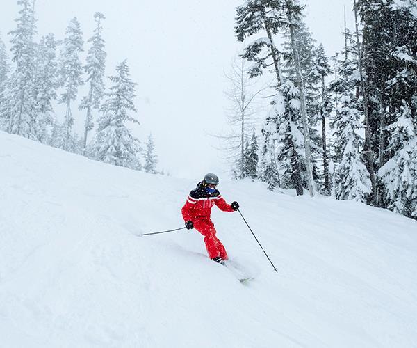 Skiing Blackcomb