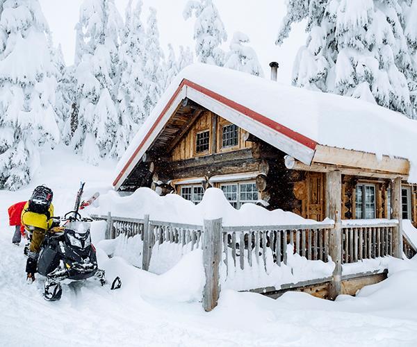 Sproatt Cabin on Sproatt Mountain