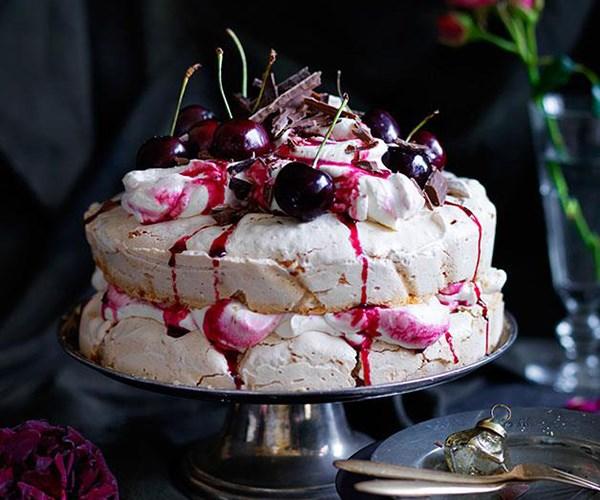 "[Cherry Ripe pavlova](https://www.gourmettraveller.com.au/recipes/browse-all/cherry-ripe-pavlova-12401|target=""_blank"")"
