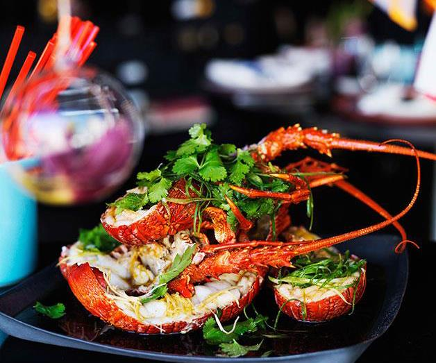 "[**Steamed lobster with ginger and spring onions**](https://www.gourmettraveller.com.au/recipes/browse-all/steamed-lobster-with-ginger-and-spring-onions-10925|target=""_blank"")"