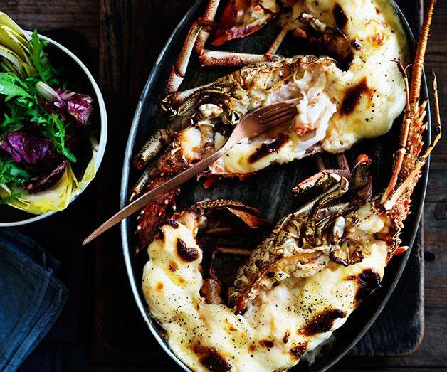 "[**Lobster mornay**](https://www.gourmettraveller.com.au/recipes/browse-all/lobster-mornay-11717|target=""_blank"")"