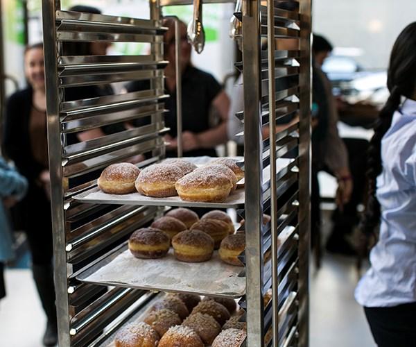 Fresh pastries at Matteo Downtown