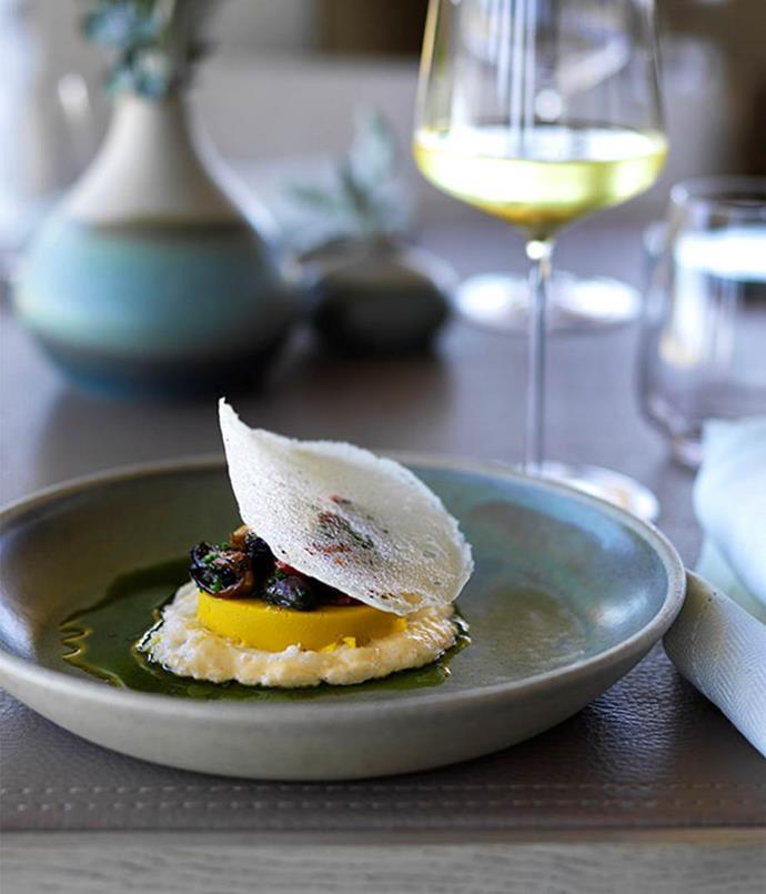 *Flinders mussels in seaweed butter at Laura (photography: Jason Loucas)*