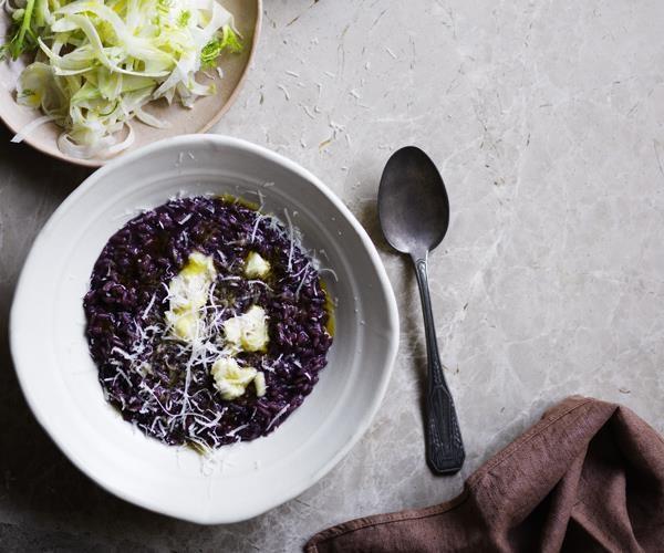 "[Barbaresco risotto with Gorgonzola](https://www.gourmettraveller.com.au/recipes/browse-all/barbaresco-risotto-with-gorgonzola-16472|target=""_blank"")"