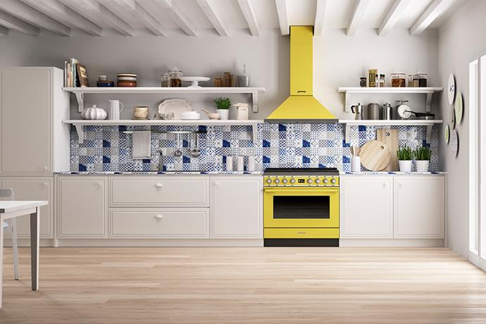 """This Portofino 126-litre-capacity oven from Smeg has a Thermoseal cavity, triple-fan interior heat distribution and is the most energy-efficient model of its size. Its 16 cooking functions and 20 set-and-forget menus will make the after-work dinner rush a lot easier. The only tough question: will it be sunshine yellow, olive green, coral red or burnt orange? <br><br> Smeg Portofino oven, $8,990, [Winning Appliances](https://www.winningappliances.com.au/p/smeg-90cm-portofino-freestanding-electric-ovenstove-cpf9ipx