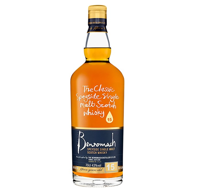 """After 15 years maturing in oloroso sherry and bourbon barrels, this single malt emerges with intense flavours of spice, grilled nuts, toast and a hint of raisin. <br><br> Benromach 15 year old single malt scotch whisky, $146, [Alba Whisky](https://www.albawhisky.com.au/store/index.php?product/page/4787/Benromach+15+Years+Old+43%25+700ml