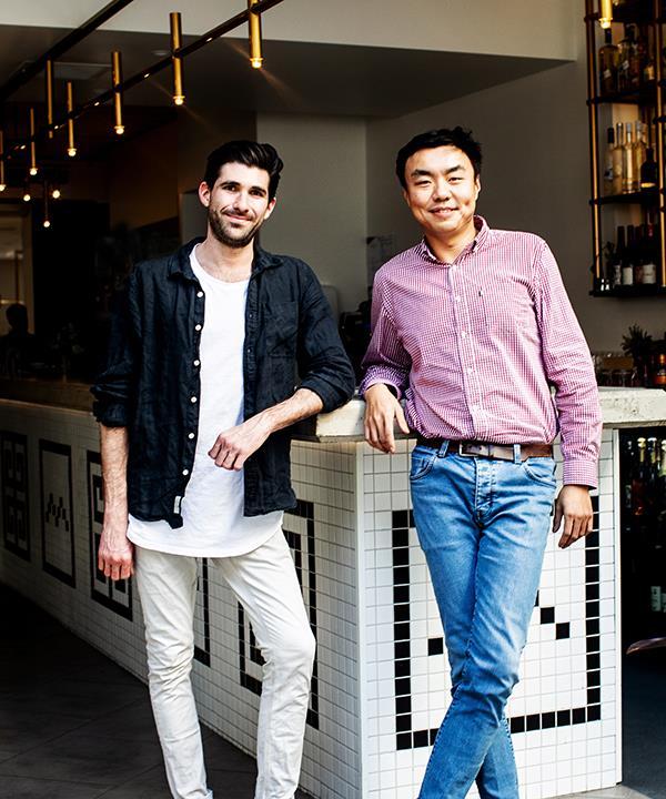 Little Valley co-directors David Flynn and Frank Li.