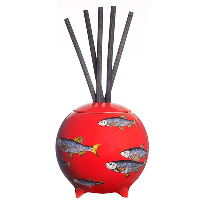 """Step away from the room spray. This stylish scent diffusing sphere mixes classic Italian style and bold design to create a piece you'll be keen to put on show.  <br><br> Fornasetti diffusing sphere, $654, [Mecca](https://www.mecca.com.au/fornasetti/sardine-diffusing-sphere/V-022970.html?cgpath=gifts