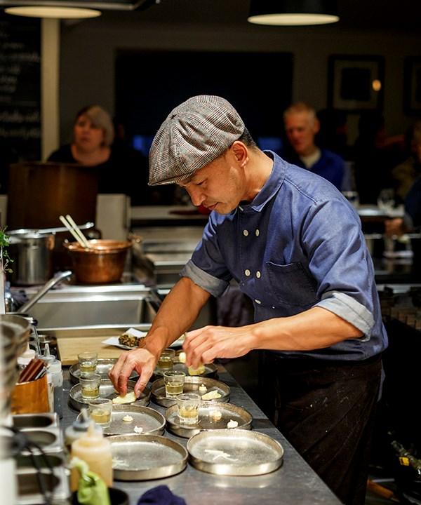 Miki's Open Kitchen chef Mikihito Nagai.