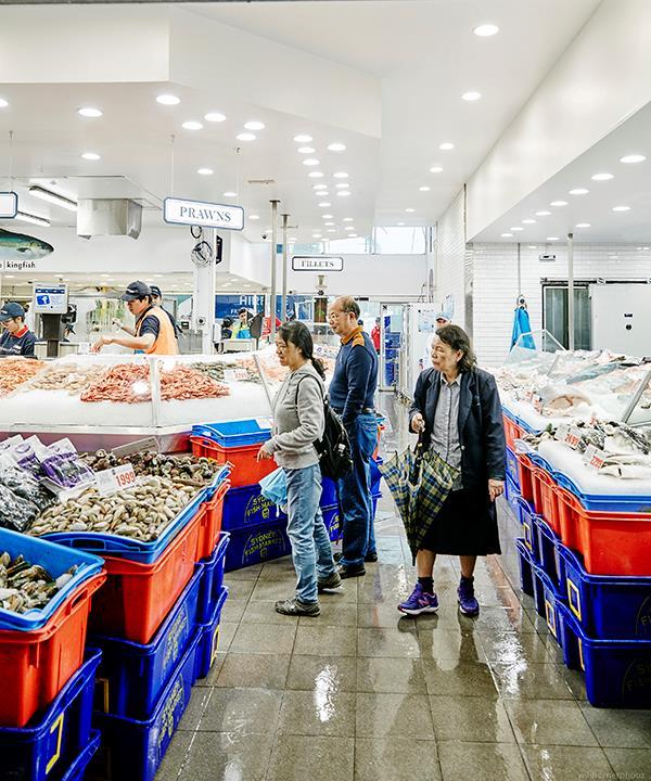 Sydney Fish Market.