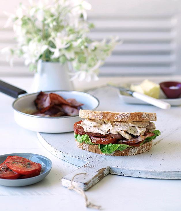 "[Turkey sandwiches](https://www.gourmettraveller.com.au/recipes/browse-all/turkey-sandwiches-10287|target=""_blank"")"