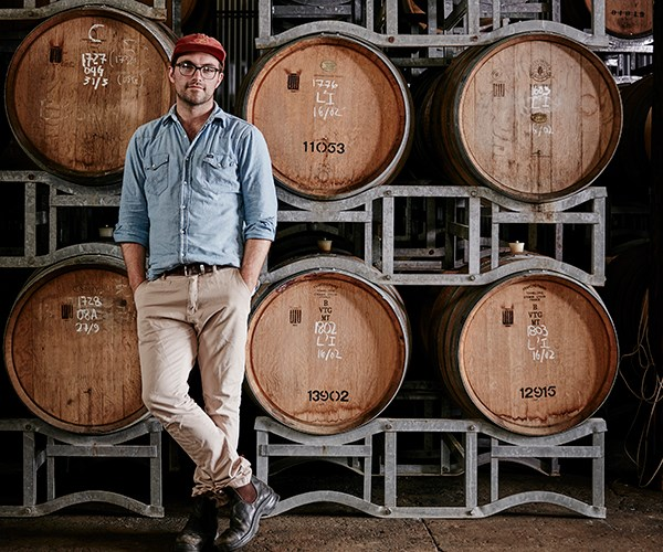 Topher Boehm, head brewer and co-founder of Wildflower Brewing & Blending