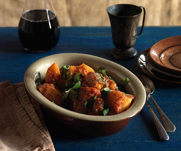 """[Braised potatoes and salt cod](https://www.gourmettraveller.com.au/recipes/browse-all/braised-potatoes-and-salt-cod-10426